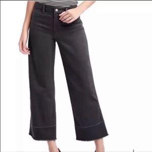 High back rise Gap wide leg jeans